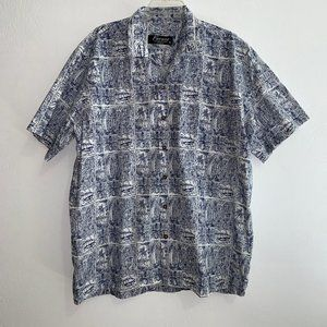 Favant Men's Hawaiian Botton Shirt